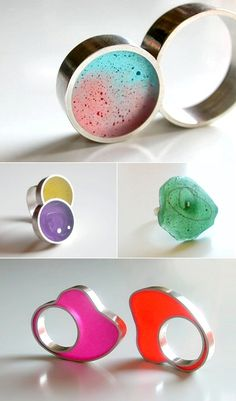 TheCarrotbox.com modern jewellery blog : obsessed with rings // feed your fingers!: Ivana Vucinovic / Stimuls