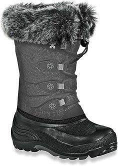 Kamik Kid's 10 Inch Classic Collection Snow Gypsy Boot Style: NK4192