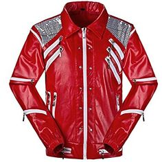 a52ff7d803 Leather Madness - Michael Jackson Beat It Leather Jacket (XXS) Men s Coats  And Jackets