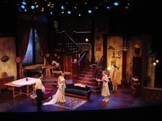You Can't Take It With You. Columbia College. Set design by Bill Anderson.