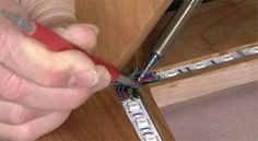 Sandor Nagyszalanczy teaches you how to install LED lighting into a coffee table project. You can also install LED lights in other projects, such as cabinets.