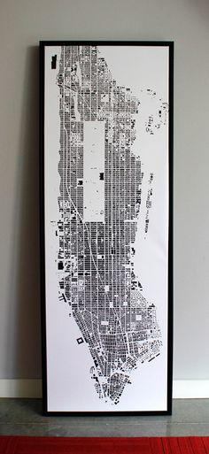 manhattan canvas full-length, by cityfabric.