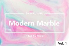 Modern Marble Ink Textures Vol.  1 by Fox & Bear on @creativemarket
