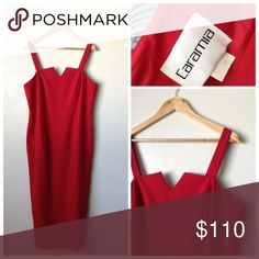 Red Dress Size 16 Nice dress great condition 🍥Reasonable offers or bundle 3 or mor get 20% less Caramia Dresses Maxi