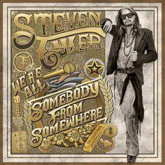 We're All Somebody from Somewhere Steven Tyler Album Cover