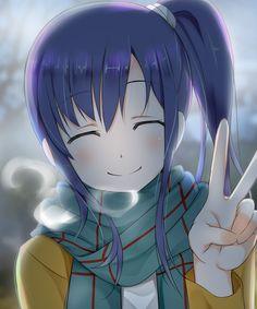 Midori(AKA Diesel-san) is happy! [Shirobako]
