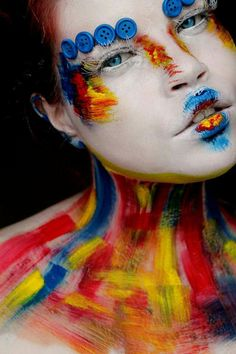#artist #artistic #artisticmakeup #makeupartist #mua #makeupart #ilovemakeup #colourmakeup #kryolan