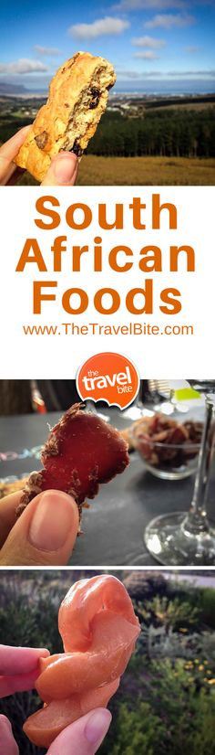 Find the tastiest food treats in South Africa along with the best nicknames for each dish.