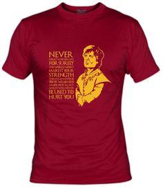 Camiseta Tyrion Lannister Juego de Tronos (por Mos Eisly)