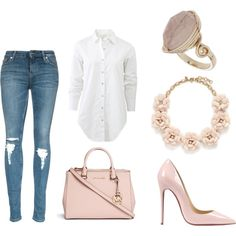 #nude #casual #chic