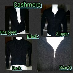 Selling this NWOT BLACK JACKET in my Poshmark closet! My username is: kfrye71. #shopmycloset #poshmark #fashion #shopping #style #forsale #Cashmere #Sweaters