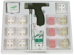 Tools & Accessories Obliging Ear Piercing Gun Earrings Studs Nose Navel Body Piercer Safety Tools Kit Beauty & Health