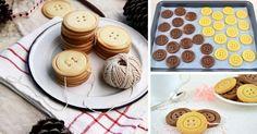 Jemné maslové sušienky v tvare gombíkov sú horúcim kandidátom na najroztomilejšie pečivo! Pozrite si jednoduchý recept, ako pripraviť gombíkové sušienky Cookies, Baking, Desserts, Food, Crack Crackers, Tailgate Desserts, Deserts, Biscuits, Bakken