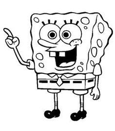 Free Printable Spongebob Squarepants Coloring Pages | Pinterest ...