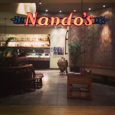 """""""Nando's"""" Zimbabwe! I FOUND IT I FOUND IT EMILY GUESS WHAT I FOUND IT!! OMG I REALLY FOUND IT!! even though they don't have one in the U.S"""
