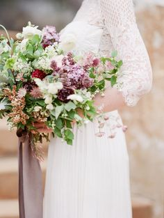 stunning spring bouquet featuring lilac by Everly Alaine Florals