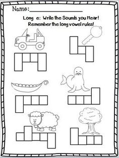 21 Best Long Vowels (Magic E and Irregulars) images