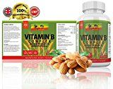 Vitamin B Complex by Rasta-Viti - FULL B SPECTRUM: B1, B2, B3, B5, B6, B7, B9, B12, with Pure Biotin and Folic Acid all in 1 Tiny Superior Quality Tablet - Incredible Energy Release Results - Reduce Fatigue and Tiredness - Improve Digestion - Made in the UK with 100% MONEY BACK GUARANTEE - So go ahead and 'release your enerJah!' - https://www.trolleytrends.com/?p=555950