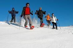 Cardada Impianti Turistici SA - Snow shoes in Cardada!