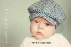 crochet direction for baby golf hats - Bing Images