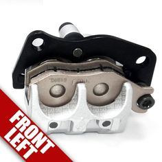 Left Front Brake Caliper 2006-2009 Yamaha Rhino 450 Mounting Bracket Wheel SXS #50CaliberRacing