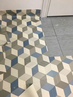 The Best D Pattern Vinyl Floor In Office Notting Hill Images On - Grey patterned vinyl floor tiles
