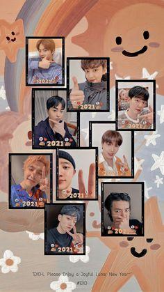 Park Chanyeol Exo, Kpop Exo, Baekhyun, Exo Songs, Exo Anime, Exo 12, Exo Lockscreen, Exo Memes, Aesthetic Art