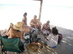 Negociando en la playa del Cabo de la Vela, La Guajira Colombia