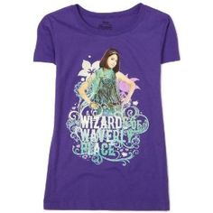 FREEZE Girls 7-16 Wizards Of Waverly Place Tee,Purple,L (12/14) (Apparel)
