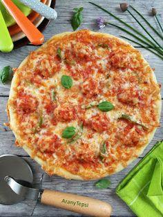 AranyTepsi: Húsgombócos pizza