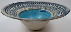 robin hopper pottery | Robin Hopper ceramic Feather Bowl : Lot 388