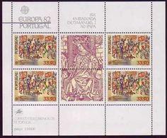 Portugal Europa 1982 mnh SS 1538a