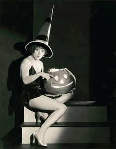 Clara Bow in Halloween Costumes, ca. 1930s ~ vintage everyday