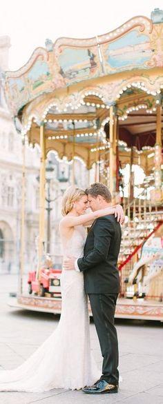 Parisian Wedding via @jena1125. #Paris #France