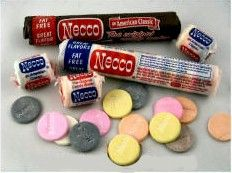 Necco Wafers-I never liked these, but I will always remember these from the theater.  :)
