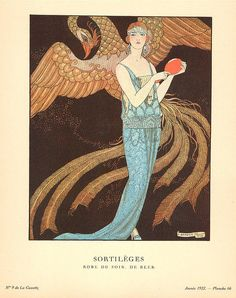 Sortileges by Georges Barbier (1882-1932, France)