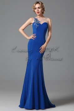 Do you think I should buy it? Prom Dresses, Formal Dresses, Spring Summer 2015, Embroidery Applique, Evening Gowns, Custom Made, Elegant, Stuff To Buy, Blue