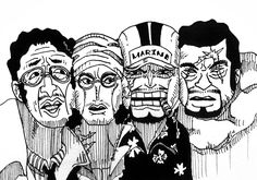 One piece - Admirals