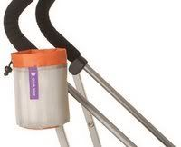 Stroller Cup Holders - The Buggy Cup is mesh and hangs on any stroller with Velcro. Love.