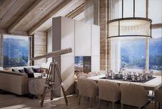 3D rendering - 7Heaven Residences in Zermatt by Plusdesign with IHD