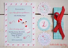 Mary Poppins Inspired Printable Invitation