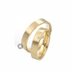 Βέρες γάμου Saint Maurice 81178 & 81179 - Συλλογή TWIN SET - Κλασικές επίπεδες βέρες σε ματ φινίρισμα | Βέρες ΤΣΑΛΔΑΡΗΣ στο Χαλάνδρι #βέρες #βερες #γάμου #αρραβώνων