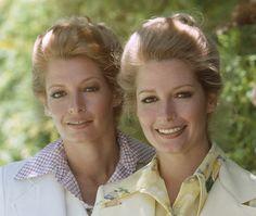 Deidre and Andrea Hall in 70s - NBC/Getty