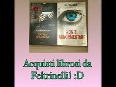 Nuovo video sui miei acquisti librosi da Feltrinelli! :D Acquisti librosi da Feltrinelli! :D