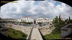 Venosa, veduta panoramica della città dal castello