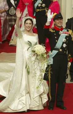 Frederik, Crown Prince of Denmark, is the heir apparent to the throne of Denmark.  He wed Mary Donaldson, of Australia, in 2005 in Copenhagen.