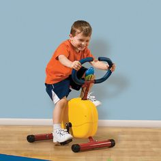 Kids First Fitness Exercise Bike. This would be great for him in a couple years