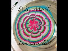 141 #NAILART | Water Marble Shout Out - Left Hand Great water marble tutorial!!