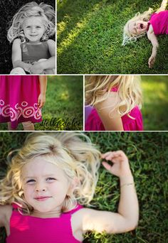 Four Years Old | Stella Dolce Photography | www.stelladolcephotography.com | girl, little girl, four years old, Nashville, TN photographer