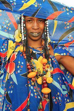 fulani woman. mali